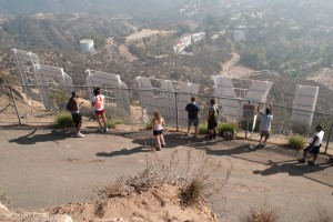 People Hollywood Sign