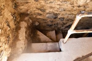 Inside Davidson Arch Tower Stairwell