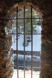 Inside Davidson Arch Tower Window 2