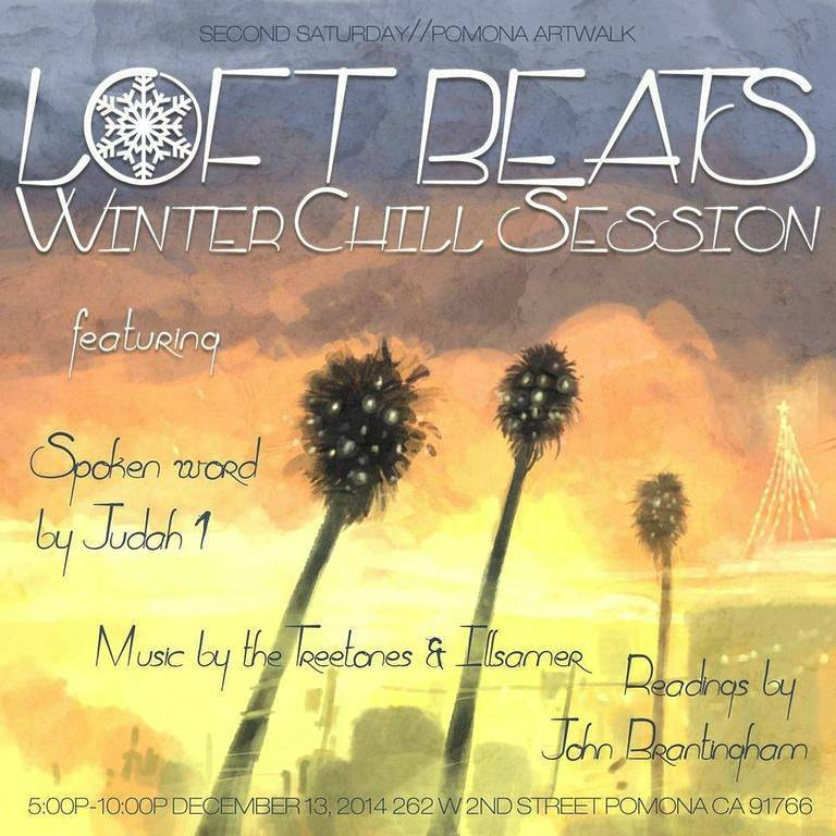 Loft Beats Art Walk December 2014 Winter Chill Session