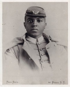 """Portrait of Cadet Charles Young by Pach Brothers, NY"" From the National Afro-American Museum and Cultural Center, Wilberforce, Ohio, via NPS.org"
